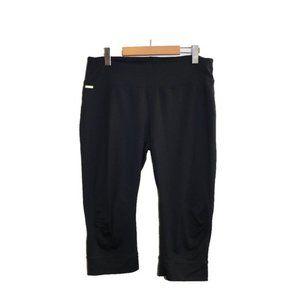 Lole Black Capri Cropped Workout Running Leggings